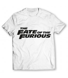 the fate of the furious printed graphic t-shirt